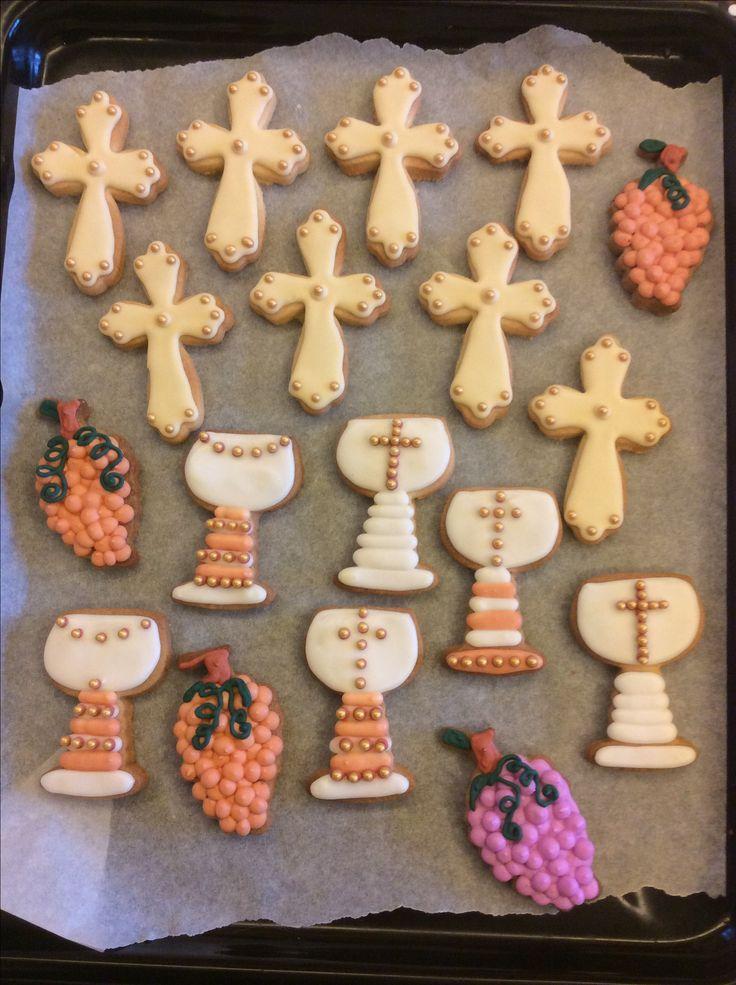 Biscotti cookies comunione
