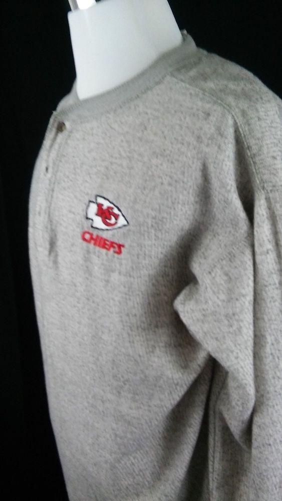 KANSAS CITY CHIEFS NFL SWEATSHIRT  SIZE X-LARGE XL  #nfl #KansasCityChiefs