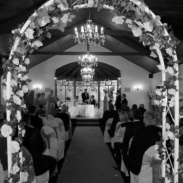 Looking through the archway :: Photo by Nathania Springs Receptions :: Dandenong Ranges, Victoria, Australia