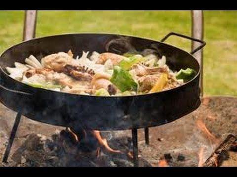 Como hacer Pollo al Disco! Locos X el Asado - YouTube