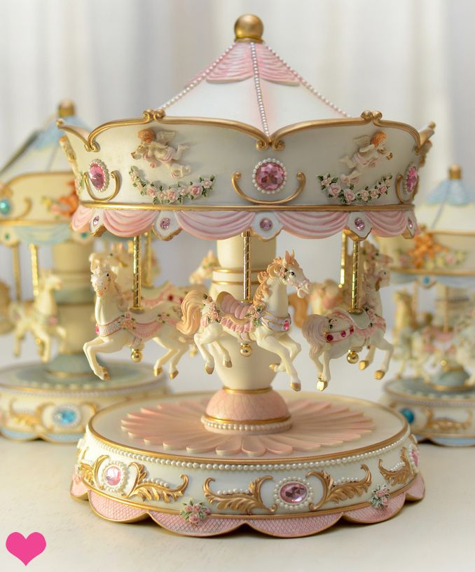 miniature carousels - Google Search | vintage carousel ...