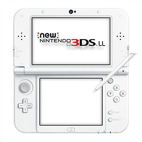 New Nintendo 3DS LL Pearl White Japanese