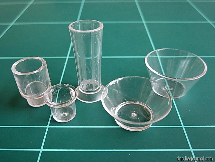 making glasses for miniature dollhouse