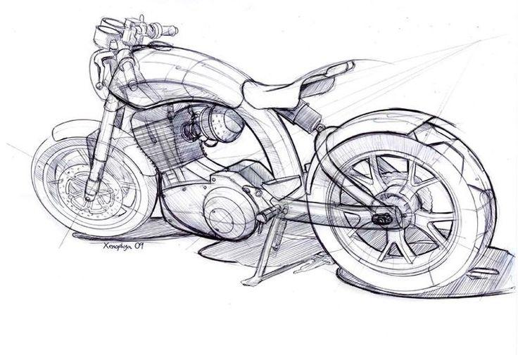 Motor çizimi.