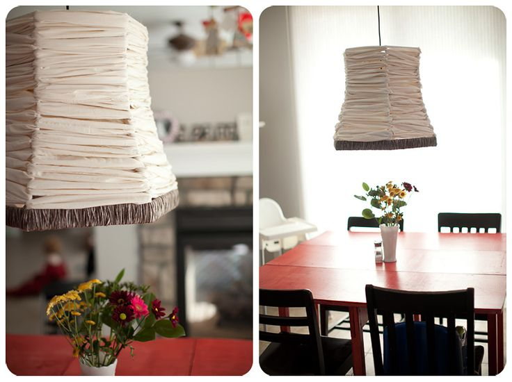 Best Lighting And Lamps Images On Pinterest Lampshades - Diy cloud like yarn lampshade