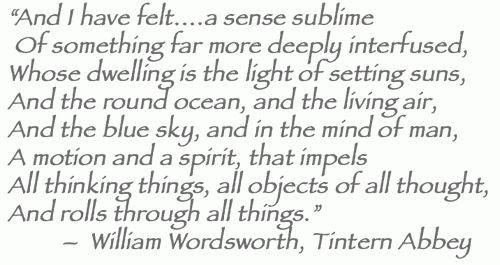 """critical appreciation of tintern abbey Critical appreciation of """"ode: intimations of immortality from recollections of early childhood"""" by william wordsworth """"ode: intimations of immortality from recollections of early childhood"""" is one of the greatest and noblest english poems."""