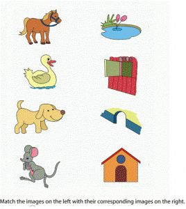 Matching animals to their home worksheet (3)