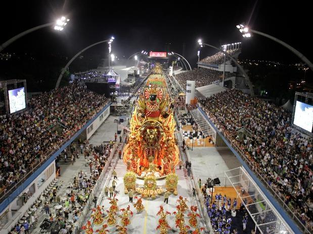 Carnival 2013 Brazil -Sambodromo
