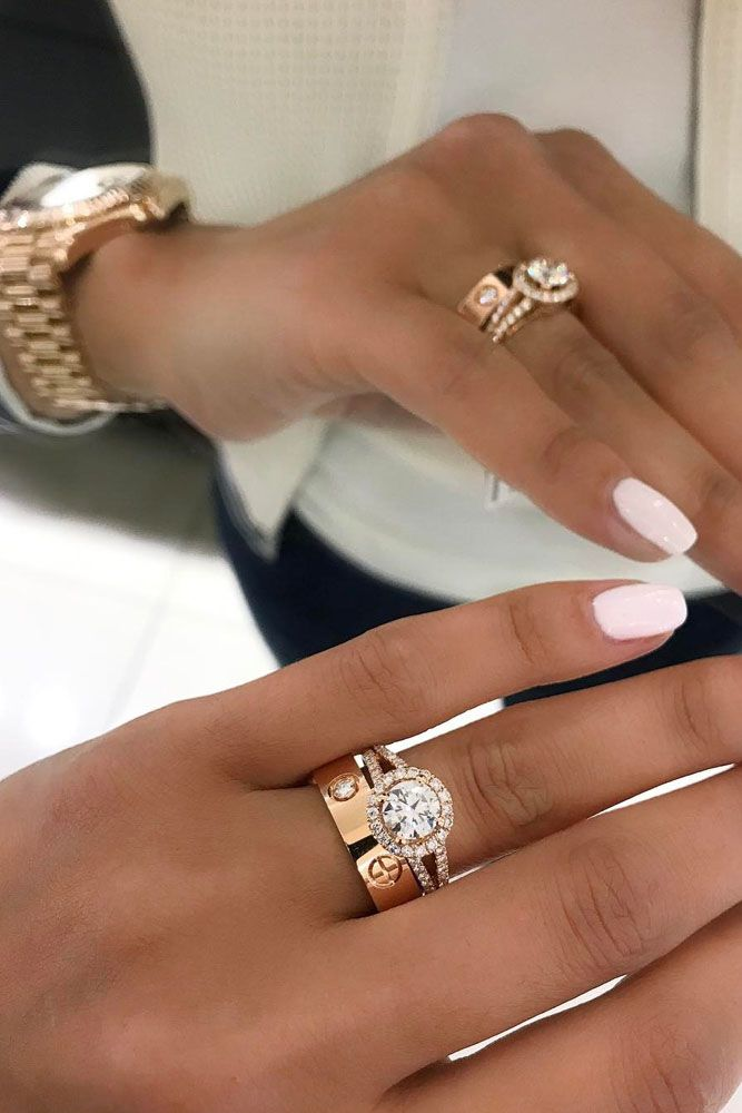 33 Rose Gold Engagement Rings By Famous Jewelers