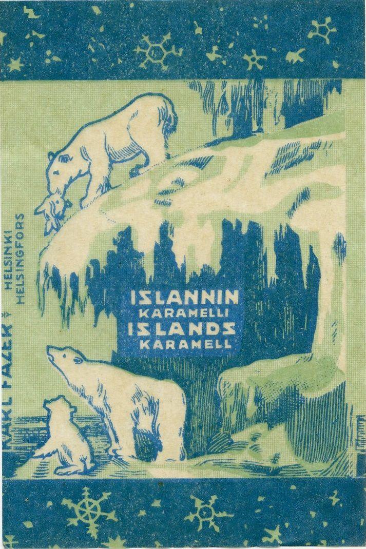 Islannin karamelli, #Fazer #Island #Polarbear #Ice