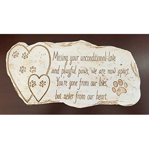 Pet Memorial Stone For Dog Cat Grave Headstone Animal Memorials Stones Outdoor #PetMemorialStoneForDogCat
