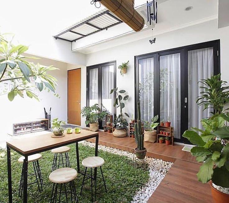 Minimalist Home Garden