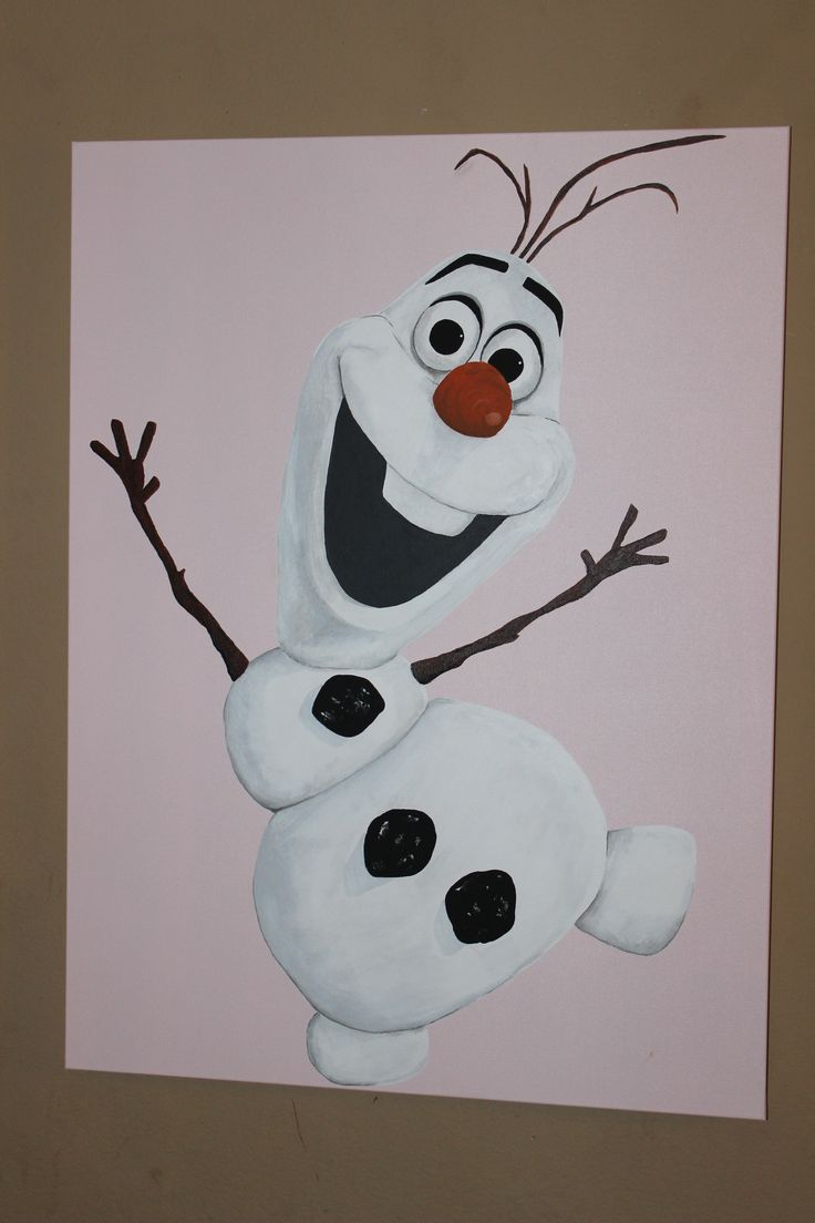 Olaf Painting