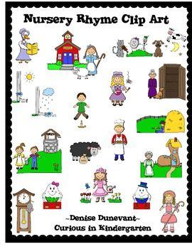 Nursery Rhyme Clip Art Clipart Pinterest Rhymes And Preschool