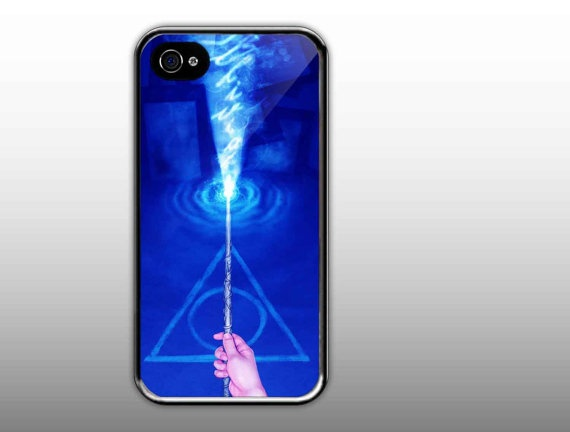 iPhone 4/4s Case   Harry Potter Deathly Hallows by NewCaseDesign, $15.50