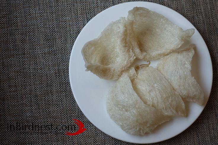 Triangle Birdnest / Mangkok Sudut by http://www.inbirdnest.com #sarangwalet #birdnest #original #edible #indonesian #nest #food