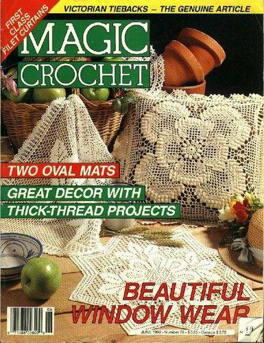 Magic Crochet Nº 78 (1992) - claudia - Álbuns da web do Picasa