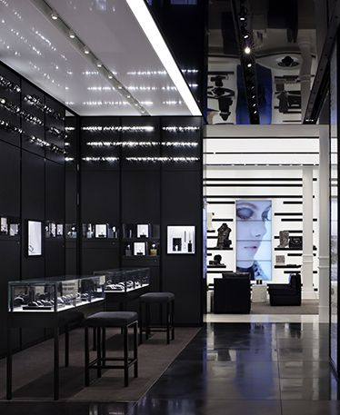 Chanel store: NYC.  Architect Peter Marino