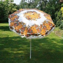 1970s' garden parasol vintageactually.co.uk