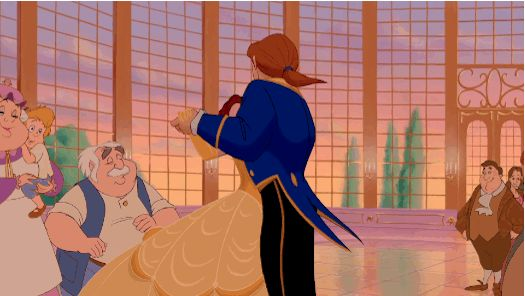 You might be dating a Disney Prince if his preferred mode of dance is a smooth, romantic spin, as evidenced here:
