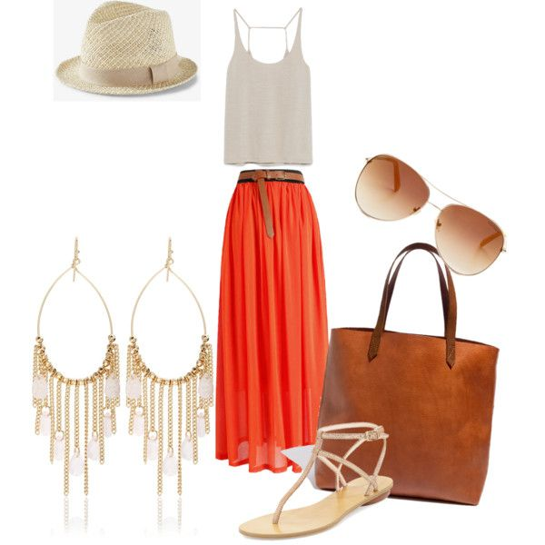 Summer vibe by nadjagou on Polyvore featuring polyvore, mode, style, Zara, Pelle Moda, Madewell, White House Black Market, Tommy Hilfiger and Express