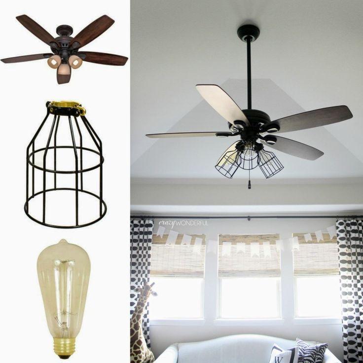 Ideal Ceiling Fan Light Shades Green
