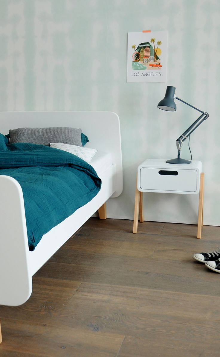 A slightly larger size, this bed would be ideal for a teenagers room - Large Single Bed from Laurette. https://www.nubie.co.uk/childrens-furniture/childrens-beds/laurette-large-single-bed-120-x-200cm