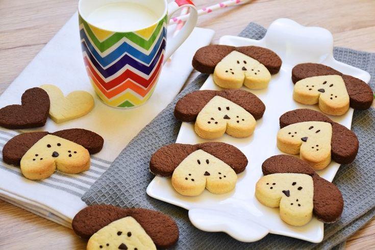 I biscotti a forma di cane sono perfetti per la colazione o la merenda dei bambini. Ecco la ricetta ed alcune varianti altrettanto golose