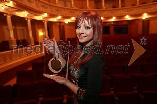 Tanja Žagar, pevka