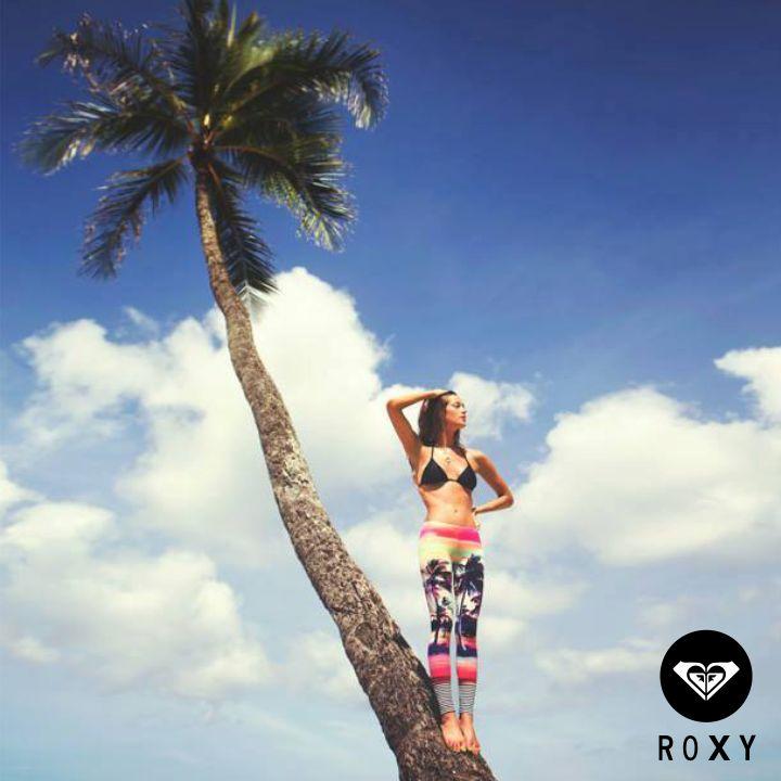 Tardes tropicales y divertidas al lado de Roxy Colombia #SunDay #ROXY #Tropical #Oufit