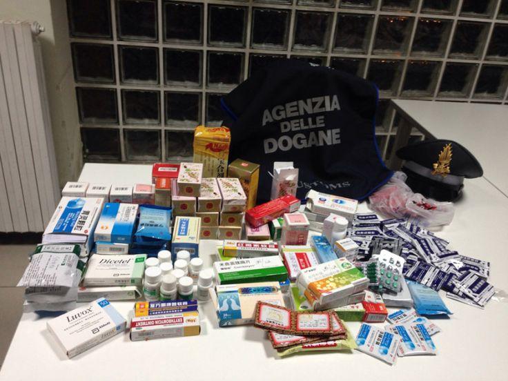 Bloccato presso l'aeroporto di Lamezia un cittadino cinese che tentava di importare farmaci illecitamente