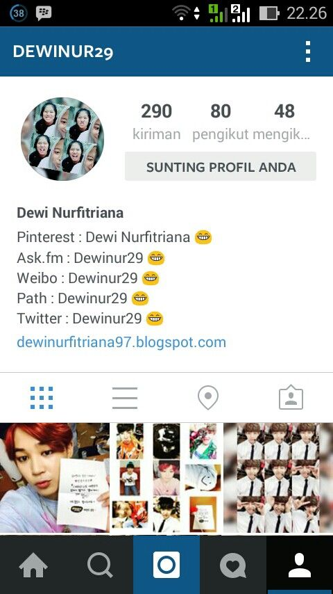 Follow My Instagram Account @Dewinur29