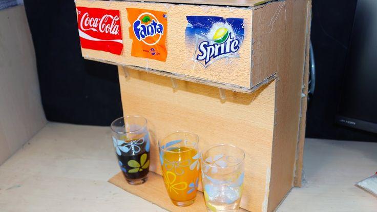 DIY CoCa Cola Soda Fountain Machine - Coca Cola, Fanta, Sprite 3 in 1 Di...