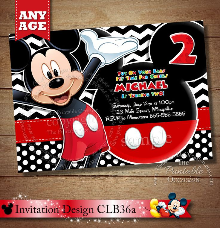 Diy Mickey Mouse Invitation – orderecigsjuice.info