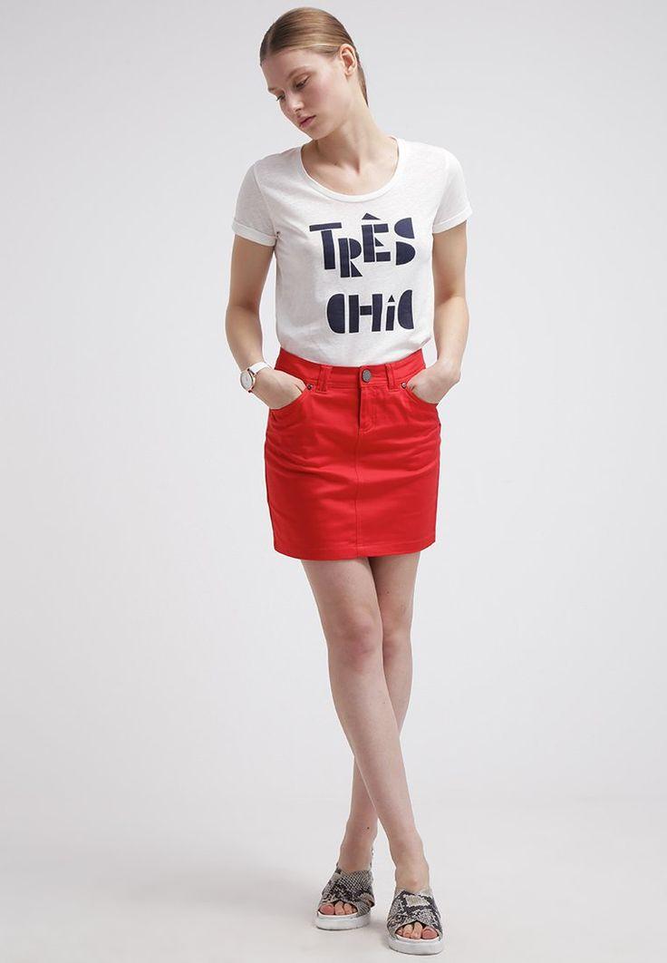 Morgan JACINO - Spódnica jeansowa - rouge - Zalando.pl