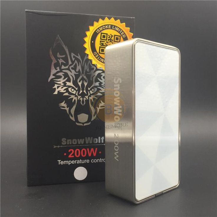 Authentic Sigelei Snow Wolf 200w White Color Edition TC Mod Lowest Price on Sale Snowwolf 200w E Cigarette Mod Online with $87.96/Piece on Benemore's Store | DHgate.com
