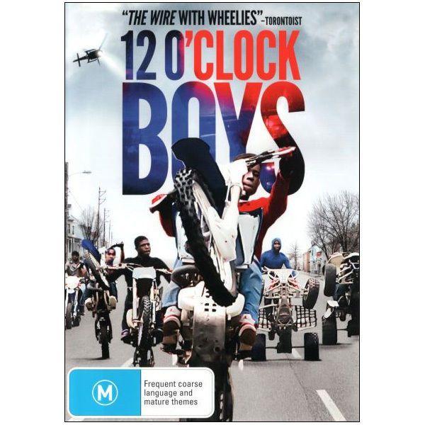 12 O'Clock Boys  DVD Brand New Region 4 Aust.