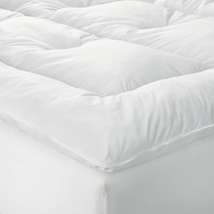 Restful Nights Queen Preference Fiber Bed - 60'' x 80'', White
