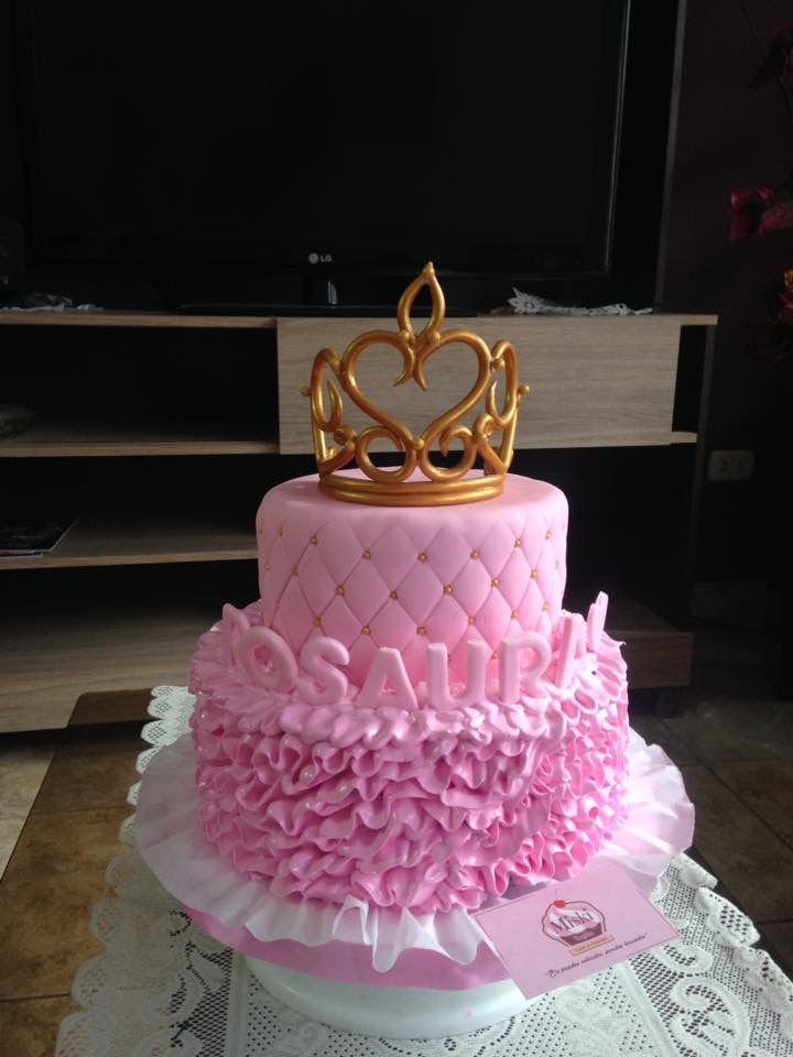Una Linda Torta De Princesa Para El Cumplea 241 Os De Rosaura