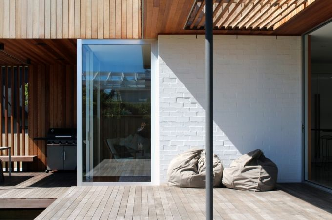 Andrew Meiring Architects : narrow neck house