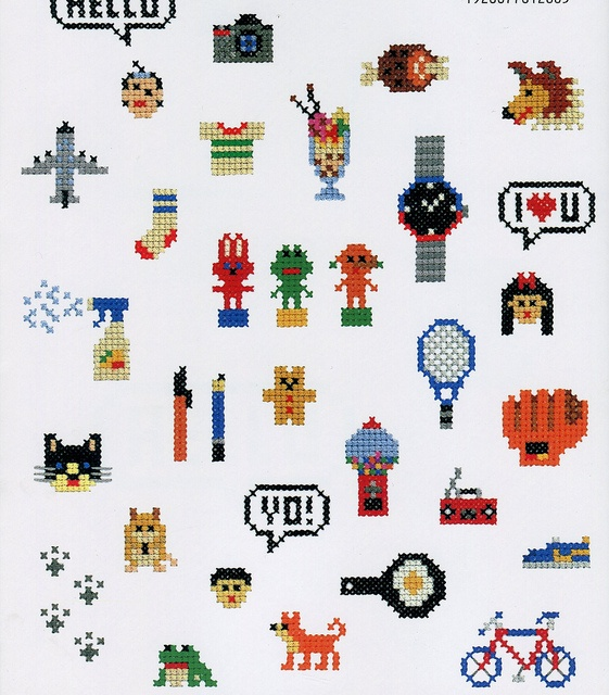 Cute Cross Stitch Book