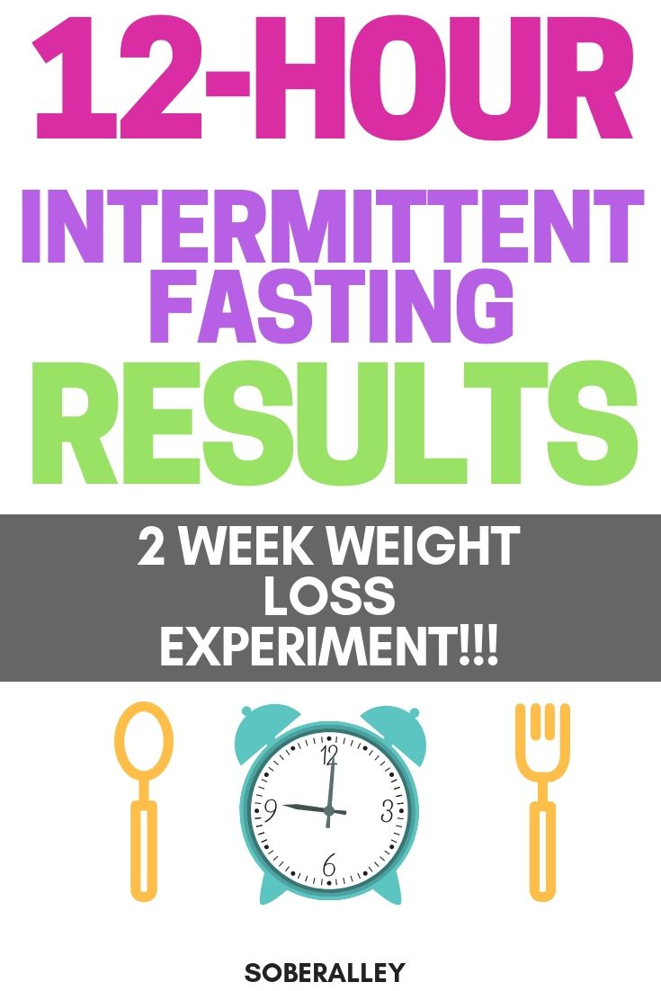 Intermittent Fasting 12 Hours: Week 2 Before & After Results
