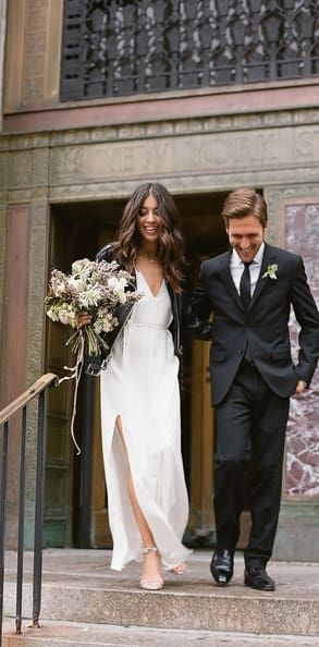 29 city hall weddings that prove less is more