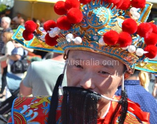 Chinese New year Celebrations in Melbourne
