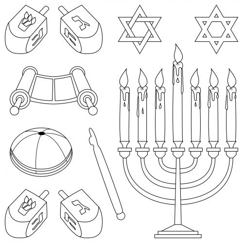 17 best images about learning a new language on pinterest for Jewish symbols coloring pages
