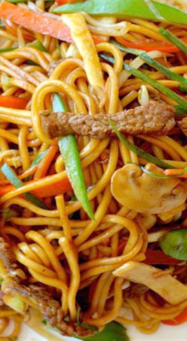 how to make beef lo mein with ramen noodles