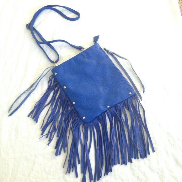 "New Crossbody / clutch bag New, royal blue crossbody bag, removable and adjustable strap, you can also use it as a clutch. Never worn! 8.5"" x 9.5"" 3am Forever  Bags Crossbody Bags"