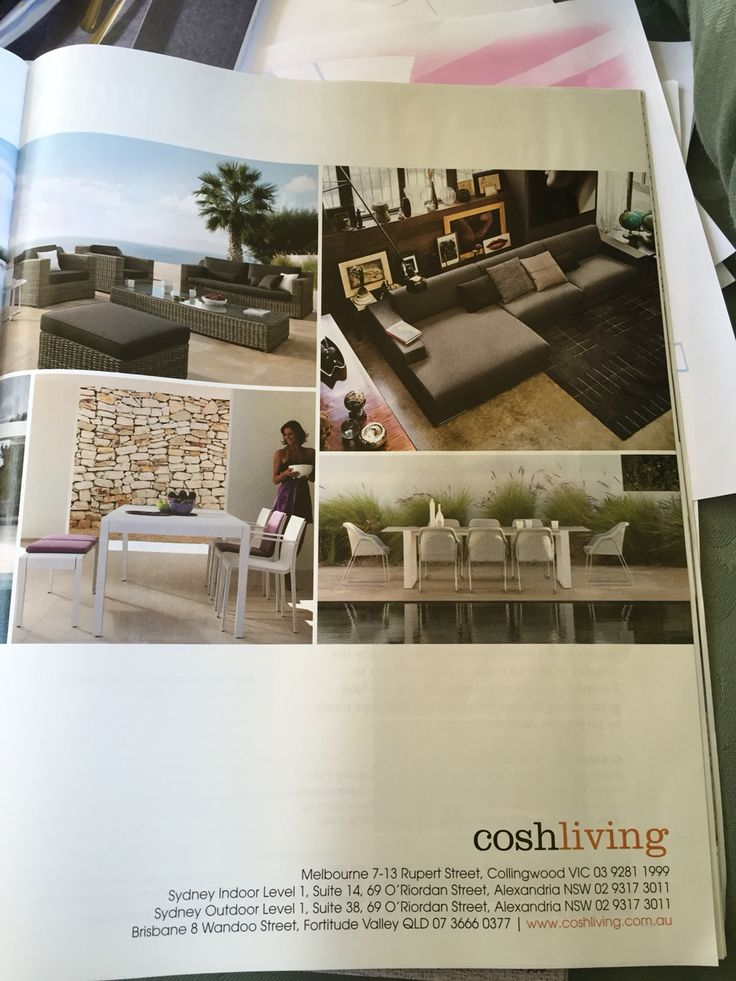 Nice furniture need to check out Cosh