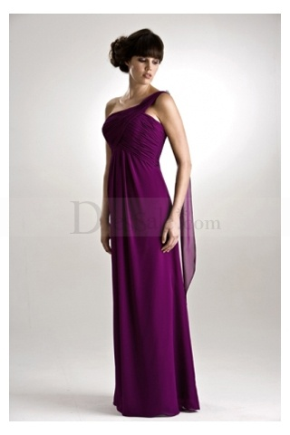 One-shoulder Strap Greece Enchanting Column Satin Bridesmaid Gown    http://www.dressale.com/oneshoulder-strap-greece-enchanting-column-satin-bridesmaid-gown-p-33898.html#crda