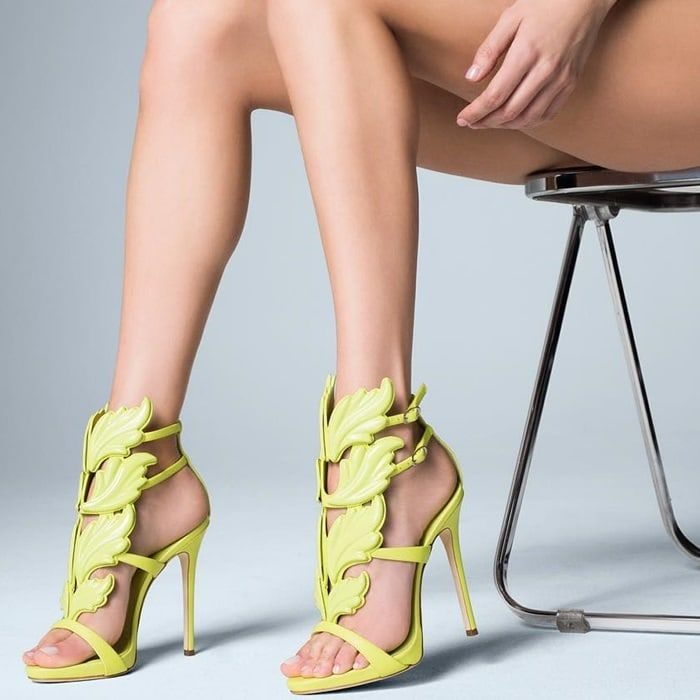 Giuseppe Zanotti 'Cruel' Wing High Heel